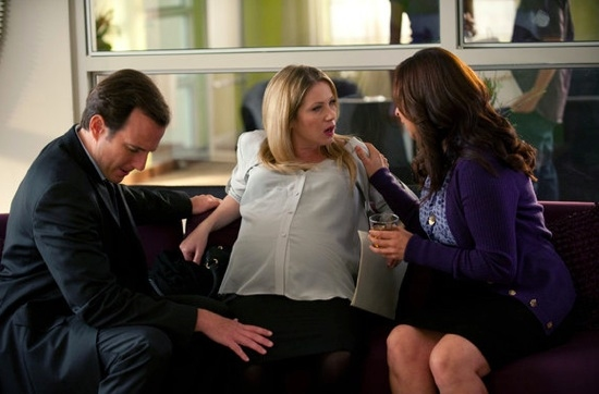 Will Arnett, Christina Applegate & Maya Rudolph at Sneak Peak -  UP ALL NIGHT'S  'Birth' Episode Airs 10/19