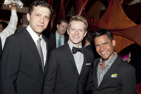 Jacob Pinion, Mark Dancewicz and Gerard Salvador
