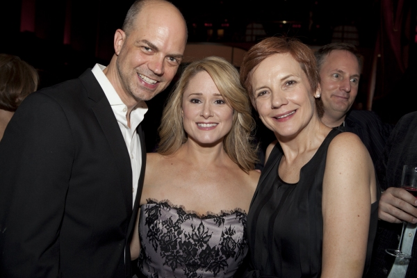 Eric Woodall, Tina Maddigan and Tara Rubin Photo