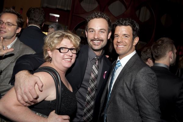 Robin Baxter, Happy Mahaney and Tony Gonzalez