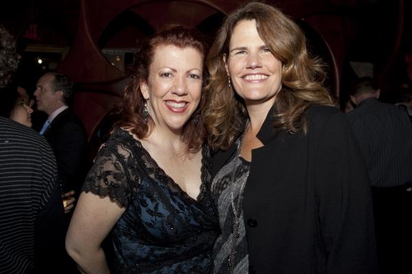 Jennifer Perry and Martha Banta at Happy 10th Broadway Birthday MAMMA MIA!