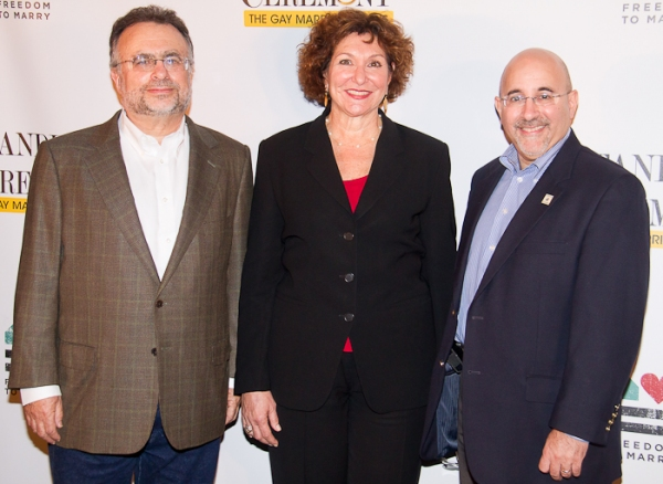 Richard Frankel, Joan Stein, and Evan Wolfson