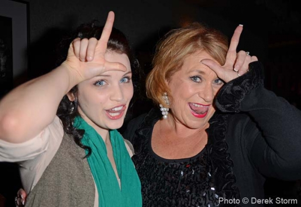 Lindsay Pearce and Sandi Patty at Jim Caruso's Cast Party At Birdland Part II