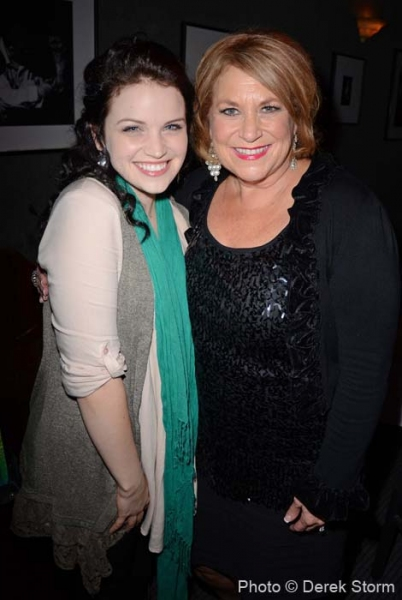 Lindsay Pearce and Sandi Patty