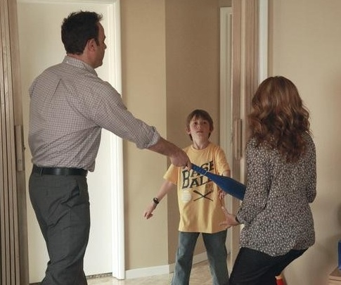 Paul Adelstein, Griffin Gluck & A J Langer at Sneak Peak- Painful Tragedy on Upcoming PRIVATE PRACTICE, 11/3