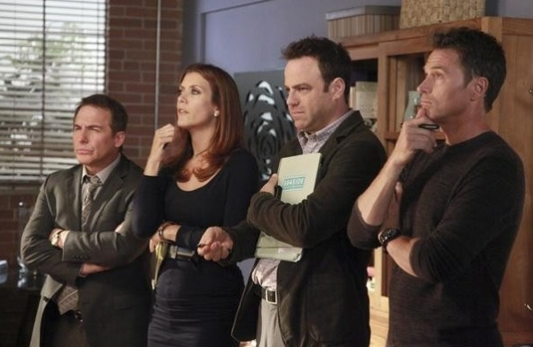 Brian Benben, Kate Walsh, Paul Adelstein, Tim Daly