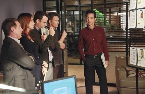 Brian Benben, Kate Walsh, Paul Adelstein, Tim Daly & Benjamin Bratt at Sneak Peak- Painful Tragedy on Upcoming PRIVATE PRACTICE, 11/3
