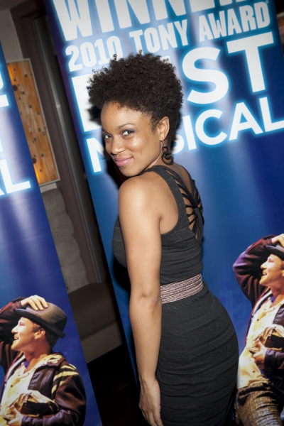 Monette McKay at MEMPHIS Celebrates 2 Years on Broadway!