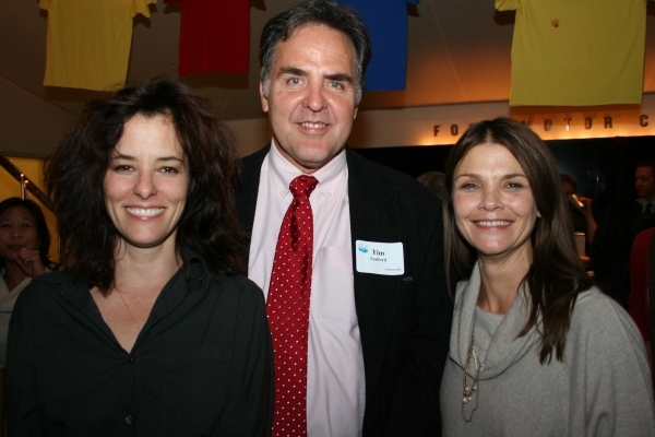 Mr. Sanford with Parker Posey at STORIES ON 5 STORIES: Dirty Laundry
