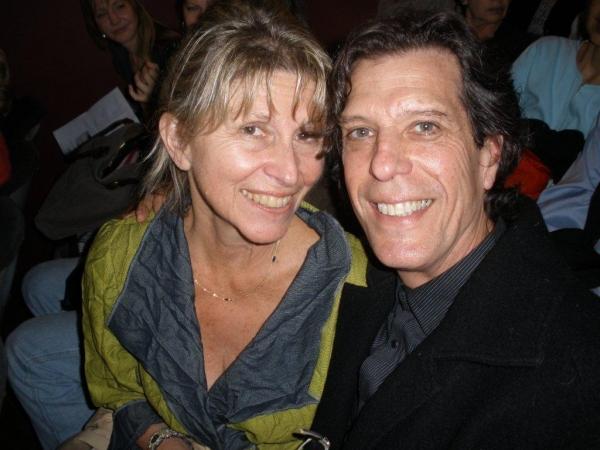 Producer Barbara Ligeti and composer Jonathan Brielle