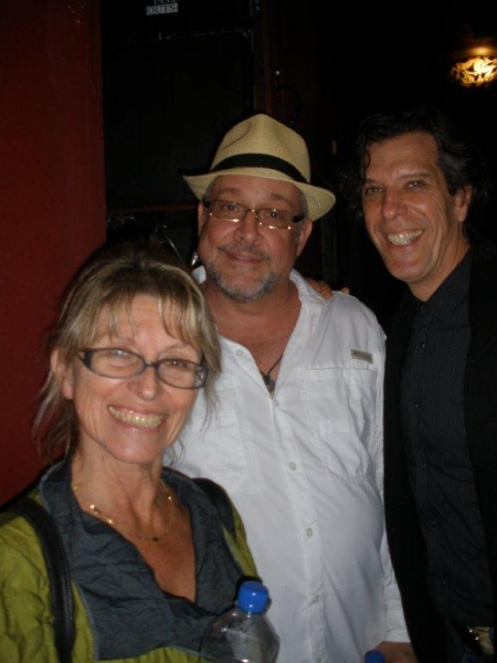 Producer Barbara Ligeti, director Michael Bush & composer Jonathan Brielle Photo