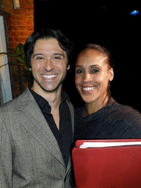 Cast members Jeremiah James and Nikki Crawford