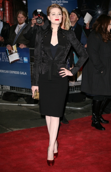 Oct. 19, 2011 - London, United Kingdom - Evan Rachel Wood arriving for The Ides Of March Premiere, Odeon Leicester Square, London. 19/10/2011 Picture by: Lexie Appleby / Snappers (Credit Image: © Snappers/ZUMAPRESS.com)