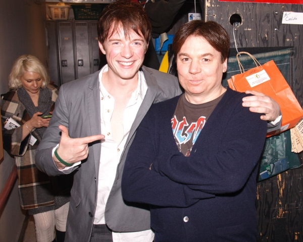 Matthew James Thomas and Mike Myers