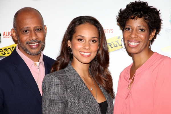 Ruben Santiago-Hudson, Alicia Keys, Lydia R. Diamond