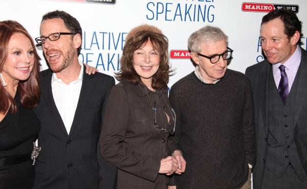 Marlo Thomas, Ethan Coen, Elaine May, Woody Allen & Steve Guttenberg