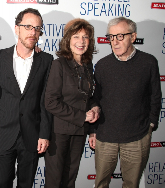 Ethan Coen, Elaine May, Woody Allen
