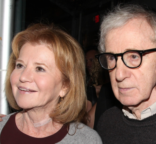 Letty Aronson & brother Woody Allen
