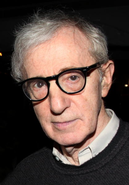 Woody Allen  at RELATIVELY SPEAKING Celebrates Opening Night!
