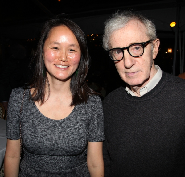 Soon Yi Previn & Woody Allen at RELATIVELY SPEAKING Celebrates Opening Night!