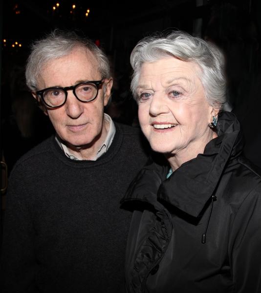 Woody Allen & Angela Lansbury at RELATIVELY SPEAKING Celebrates Opening Night!