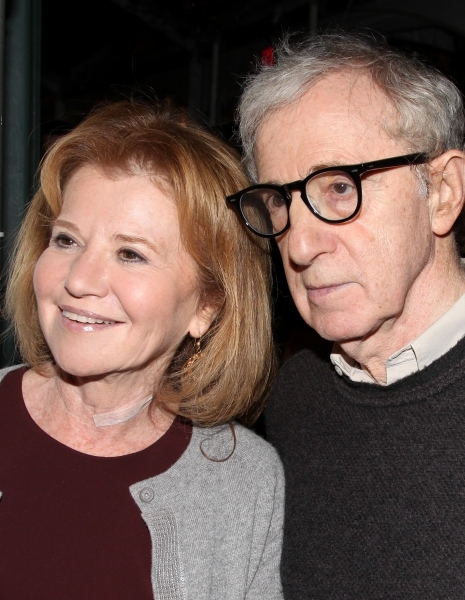 Letty Aronson & Woody Allen  at RELATIVELY SPEAKING Celebrates Opening Night!