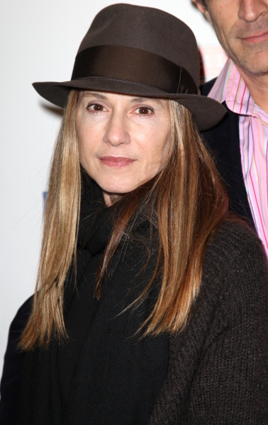 Holly Hunter at RELATIVELY SPEAKING Opening Night Curtain Call!