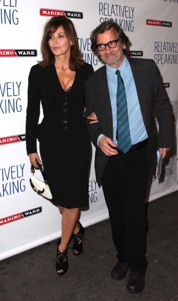 Griffin Dunne & Gina Gershon Photo