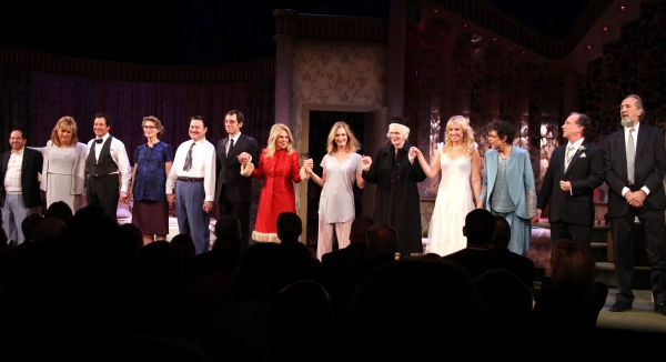 3 at RELATIVELY SPEAKING Opening Night Curtain Call!