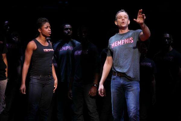 Photo Coverage: First Look at Adam Pascal as MEMPHIS' Huey Calhoun!