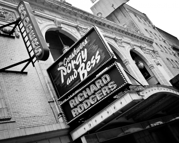 The Gershwins' Porgy and Bess at the Richard Rodgers Theater at New Marquee for PORGY & BESS