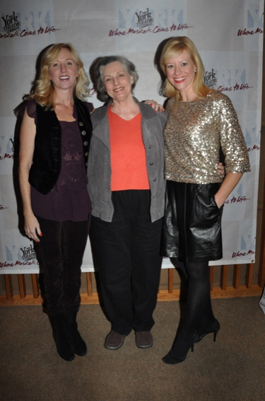 Anastasia Barzee, Dana Ivey and Jennifer Hughes at York Theatre Presents-Musicals in Mufti-The Housewives' Cantata