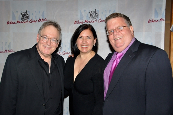 Bob Goldstone, Karen Carpenter and James Morgan at York Theatre Presents-Musicals in Mufti-The Housewives' Cantata