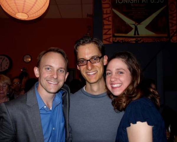 Jason Henning, Paul Culos, Danielle Jones and Danielle K Jones. Photo