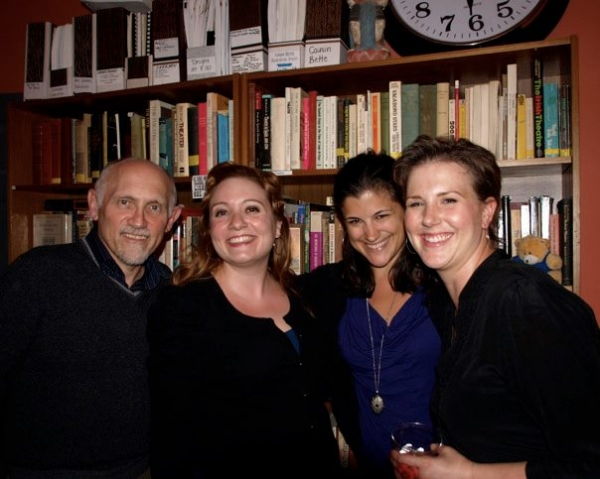 Armin Shimerman, Etta Devine, Jenny Brooks-Stratton, Kendra Chell and Kendra Chell. Photo