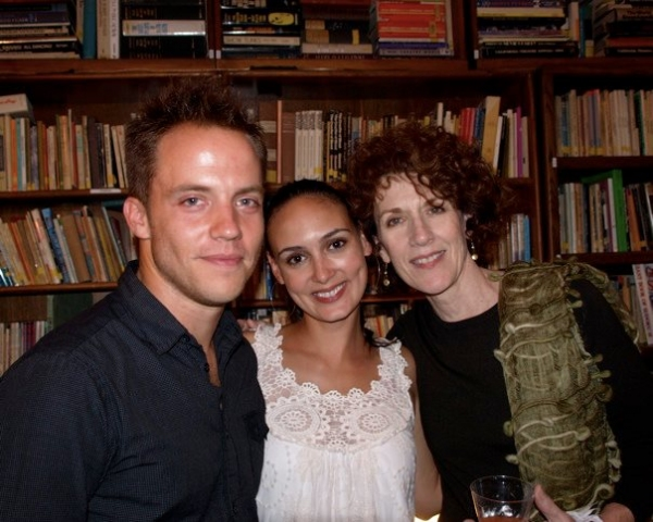 Graham Hamilton, Rebecca Lyn Mozo and Kitty Swink
