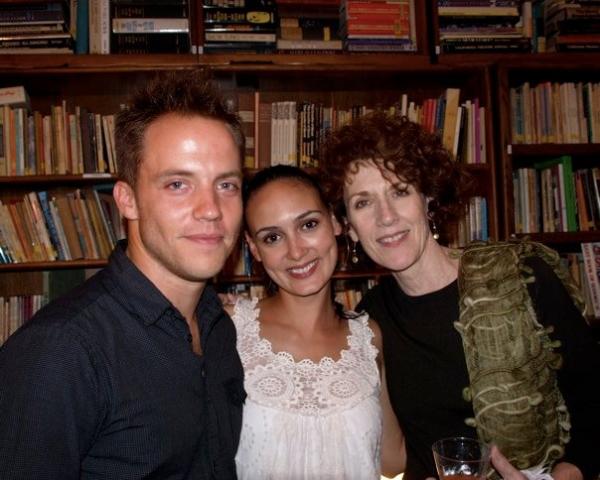 Graham Hamilton, Rebecca Lyn Mozo and Kitty Swink