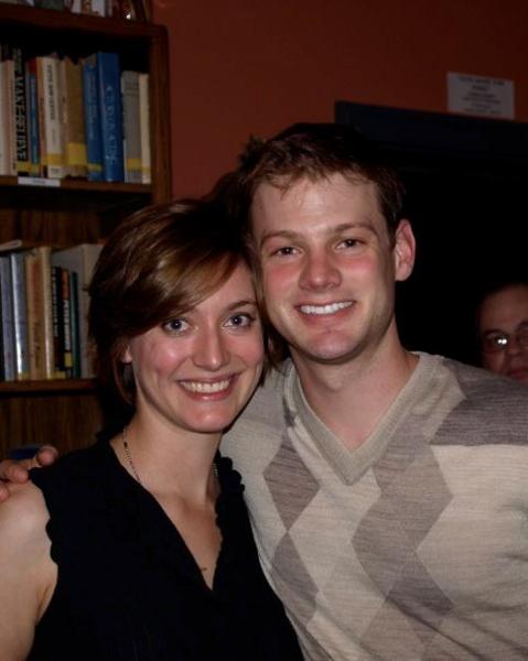 Zoe Perry and Joseph Fuhr.