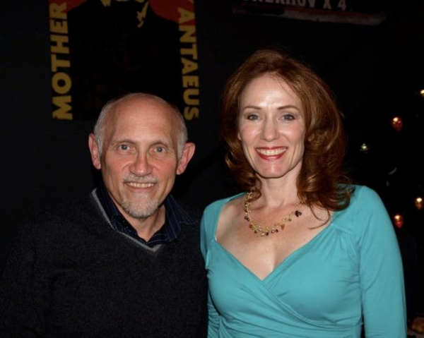 Armin Shimerman and Emily Chase. Photo