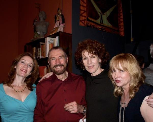 Emily Chase, Barry Creyton, Kitty Swink and Rhonda Aldrich. Photo