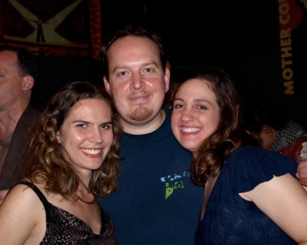 Jessica Olson, Drew Doyle, and Danielle K Jones. Photo