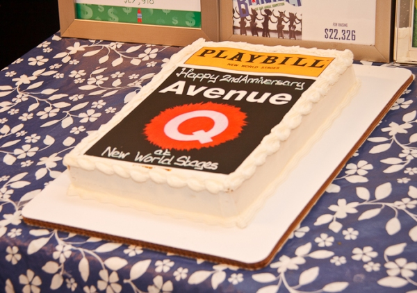 Photo Coverage: AVENUE Q Celebrates 2nd Anniversary Off-Broadway!
