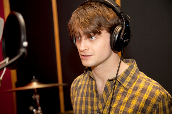 Photo Flash: Daniel Radcliffe Records for 'Carols for a Cure' Holiday Album