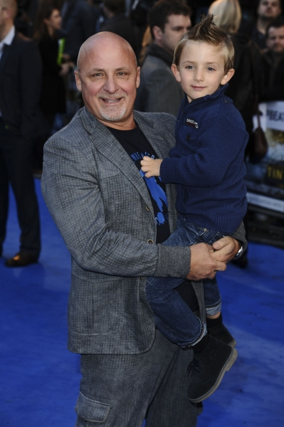 Oct. 23, 2011 - London, England, United Kingdom - Aldo Zilli.arrives for the 'Tintin' premiere at the Odeon West End, London...©Ash Knotek D2336 23/10/2011. (Credit Image: © Snappers/ZUMAPRESS.com)