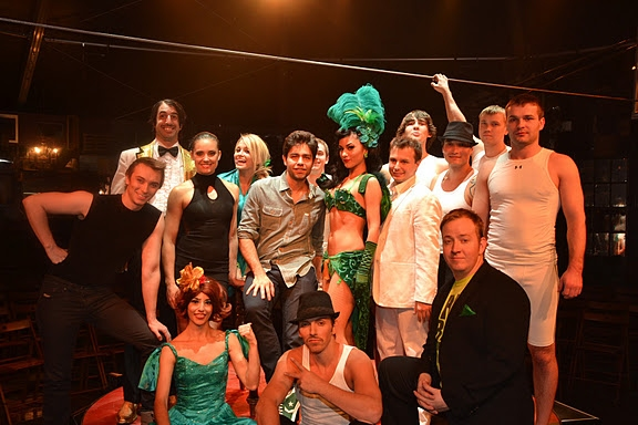 Adrian Grenier and Absinthe cast