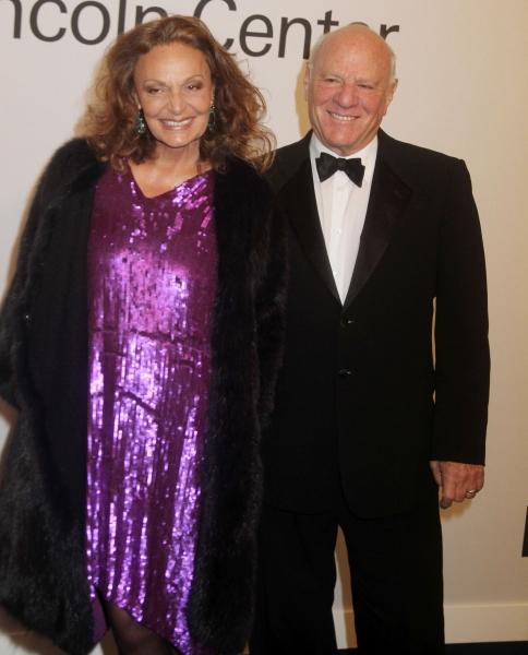Oct. 24, 2011 - New York, New York, U.S. - Designer DIANE VON FURSTENBERG and BARRY D Photo