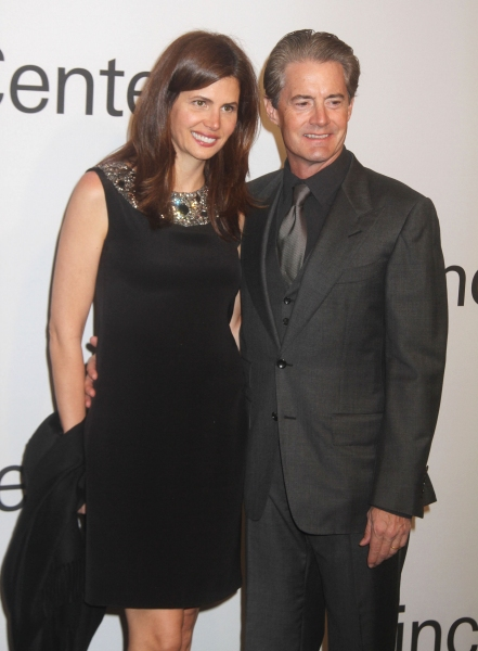 Oct. 24, 2011 - New York, New York, U.S. - DESIREE GRUBER and KYLE MACLACHLAN attend 'An Evening with Ralph Lauren' hosted by Oprah Winfrey held at Alice Tully Hall at Lincoln Center. (Credit Image: © Nancy Kaszerman/ZUMAPRESS.com)