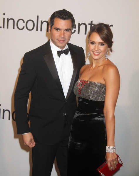 Oct. 24, 2011 - New York, New York, U.S. - JESSICA ALBA and CASH WARREN attend 'An Evening with Ralph Lauren' hosted by Oprah Winfrey held at Alice Tully Hall at Lincoln Center. (Credit Image: © Nancy Kaszerman/ZUMAPRESS.com)