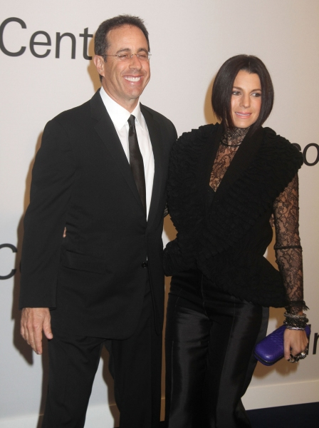 Oct. 24, 2011 - New York, New York, U.S. - JERRY SEINFELD and JESSICA SEINFELD attend 'An Evening with Ralph Lauren' hosted by Oprah Winfrey held at Alice Tully Hall at Lincoln Center. (Credit Image: © Nancy Kaszerman/ZUMAPRESS.com)