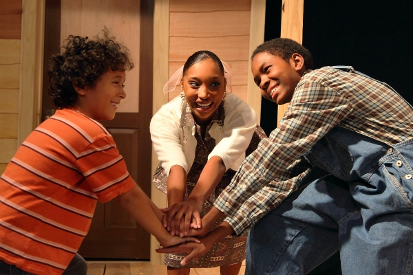 Malachi-Phree J. Pate, Yvette Williams, J. Miguel Conrado Rojas at The Human Race Theatre Presents Caroline, or Change